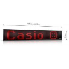 Tekstinė LED švieslentė K1003 su laikrodžiu ir termometru