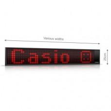 Bėganti eilutė LED K1005 su laikrodžiu ir termometru