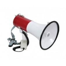 Megafonas 30W su prisegamu mikrofonu