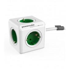 Prailgintuvas 5 lizdų 1.5m PowerCube Extended su žaliais lizdais