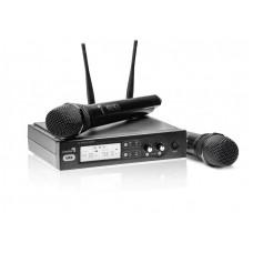 Live Star UX2 dviejų kanalų bevielis radijo mikrofonų (2vnt) komplektas 863.1 MHz, 864.3 MHz