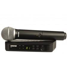 SHURE BLX24E PG58 K14 bevielis mikrofonas