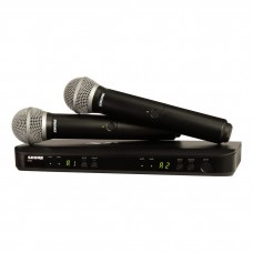 Shure  BLX288/PG58 - K14 (614-638 MHz) mikrofonų komplektas