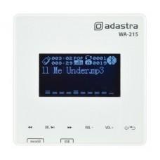 Sieninis stiprintuvas  su MP3 grotuvu ir FM radija, Bluetooth 2x15W