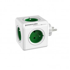 Tinklo šakotuvas PowerCube Original su 5 žaliais lizdais