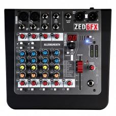 ZED-6FX Allen & Heath mikšerinis pultas